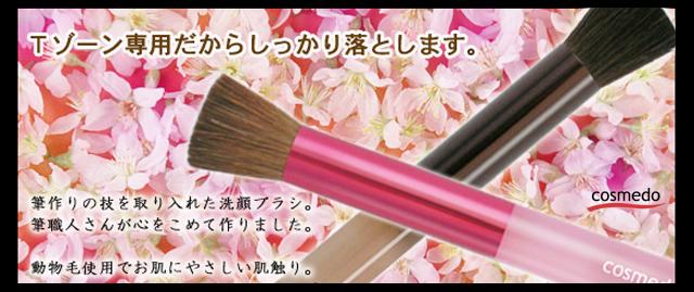 Tゾーン洗顔ブラシ