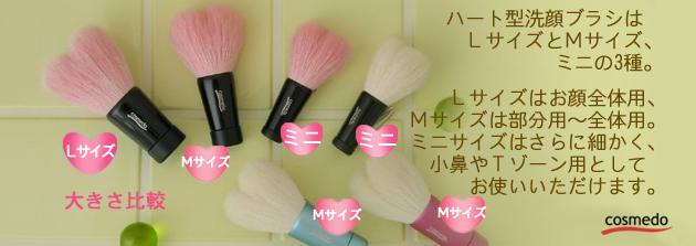 洗顔ブラシシリーズ